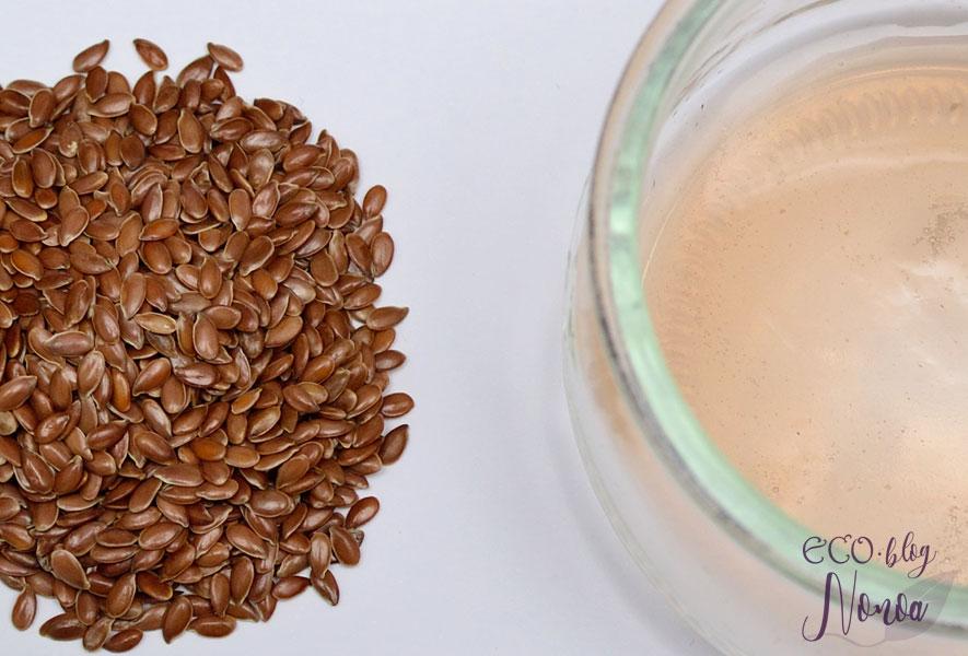 Gel Fijador de rizos con semillas de Lino