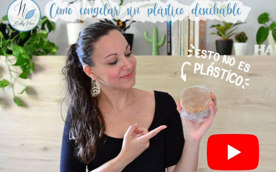 Cómo congelar sin plástico desechable (vídeo)