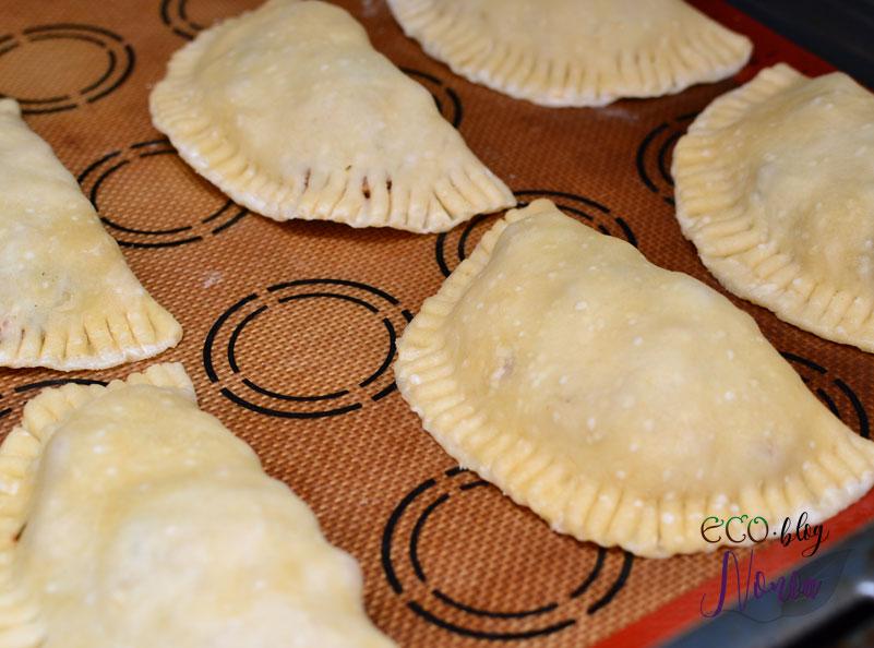 Empanadillas veganas de soja texturizada y berenjena - ecoblog nonoa