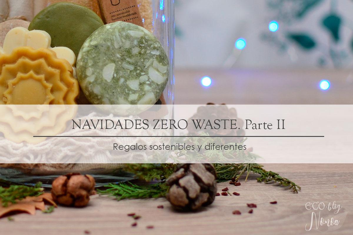 Ideas de regalos sostenibles para Navidad