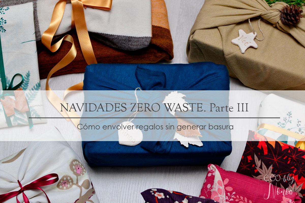 Cómo envolver regalos sin generar basura