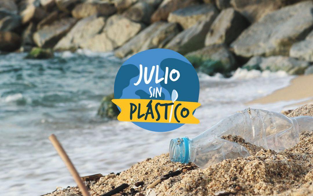 Julio sin Plástico ¡únete al movimiento!